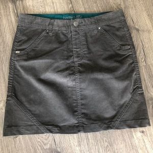 NWT - Horny Toad Corduroy Skirt